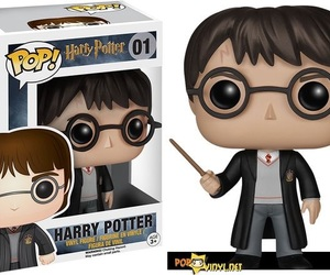 harry potter, wizard, and funko pop image