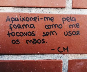 amor, frase, and português image