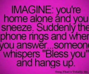 teenager post, imagine, and creepy image