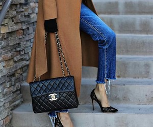 bag, jeans, and zapatillas image