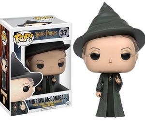 harry potter, minerva, and funko pop image