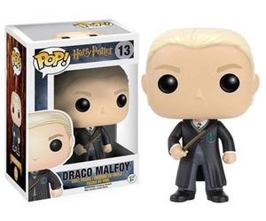 draco malfoy, harry potter, and funko pop image