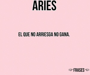 aries, frases, and pink image
