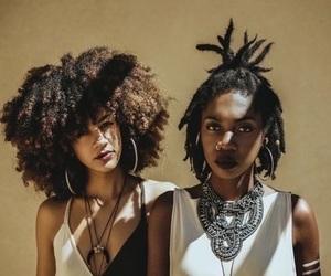 melanin, beauty, and hair image