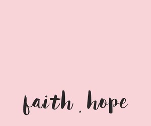 wallpaper, faith, and pink image