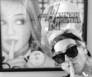 jesse rutherford, the neighbourhood, and hannah montana image