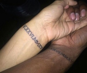 tattoo and couple image