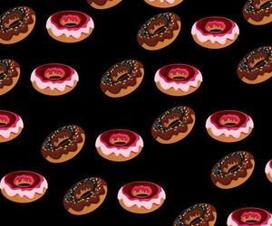 background and donuts image