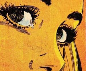 comic, art, and yellow image