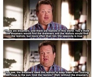 quotes, modern family, and dreamer image