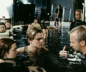 titanic, leonardo dicaprio, and movie image