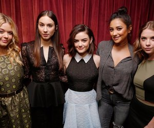 lucy hale, pretty little liars, and ashley benson image