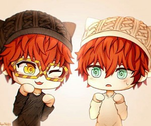 mystic messenger, 707, and luciel image