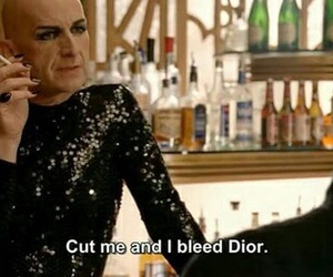 bitches, dior, and quotes image