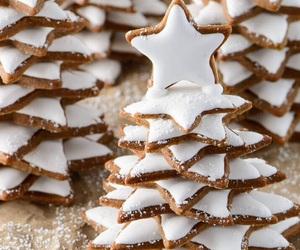 christmas, december, and food image