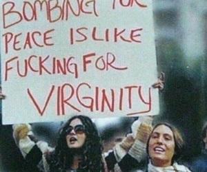 bombing, fuck, and virginity image