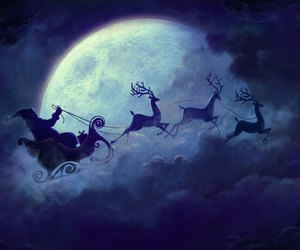 christmas, santa, and santa claus image