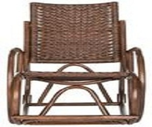 wooden rocking chair image