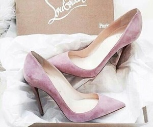 christian laboutin, high hills, and shoes image