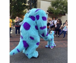 monsters inc, sully, and cute image