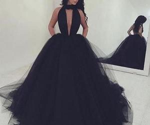 prom dress, tulle dress, and formal dress image