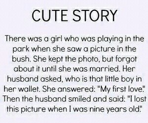 cute, love, and story image