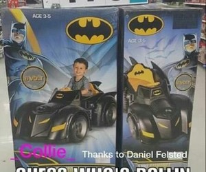 batman, Batmobile, and funny image