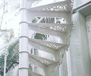 home, stairs, and white image