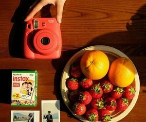 camera, FRUiTS, and orange image