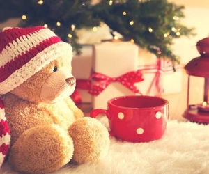 christmas, decoration, and gift image