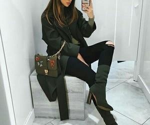 khaki and style winter image