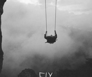 fall, fly, and free image