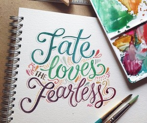 art, calligraphy, and fearless image