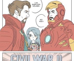 Marvel, benedict cumberbatch, and funny image