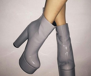 fashion, boots, and heels image