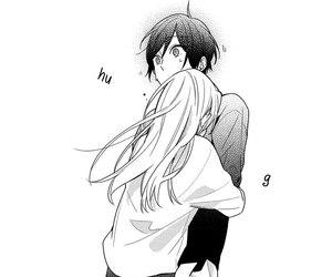 manga, couple, and horimiya image
