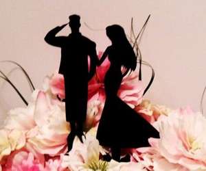air force, marine, and wedding image