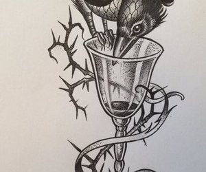 ink, six of crows, and dregg image