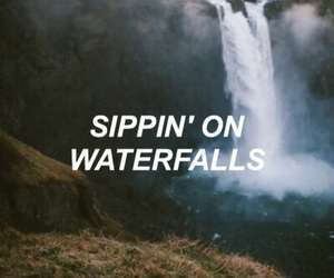 quote, waterfalls, and troyesivan image