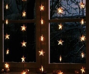 awesome, stars, and window image
