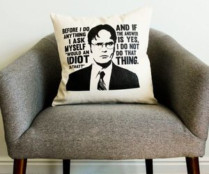 dwight schrute, pillow cases, and pillow case covers image