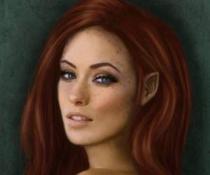 redhead elf image
