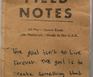 quotes, goals, and notes image