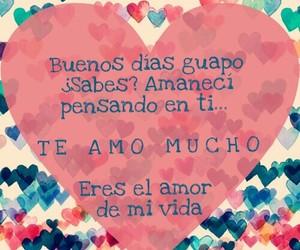 amor, pensando, and buenos image