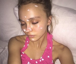 lily rose depp and girl image