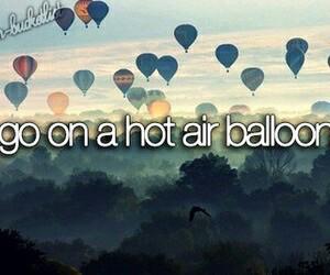 bucket list, balloons, and bucketlist image