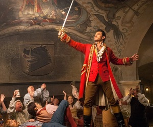 disney, beauty and the beast, and gaston image
