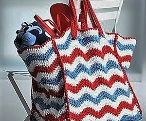 crochet bags, crochet bag patterns, and crochet bag ideas image