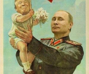 baby, russia, and vladimir putin image