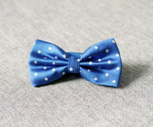 etsy, groom bow tie, and blue bow tie image